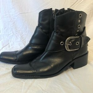 Harley Davidson Boots Buckle Boots